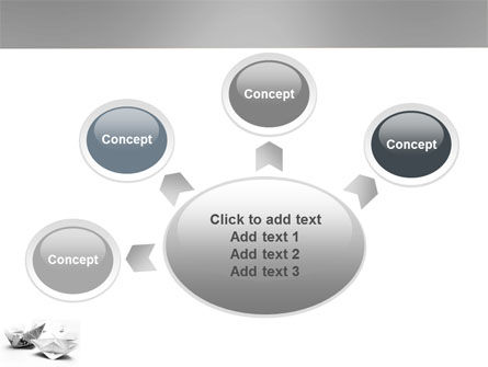 Paper Ship PowerPoint Template Slide 7