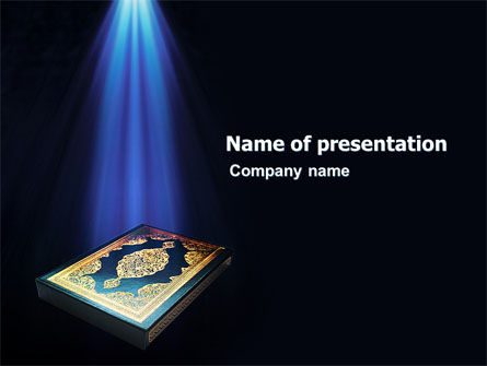 Koran powerpoint template backgrounds 03651 poweredtemplate koran powerpoint template 03651 religiousspiritual poweredtemplate toneelgroepblik Images