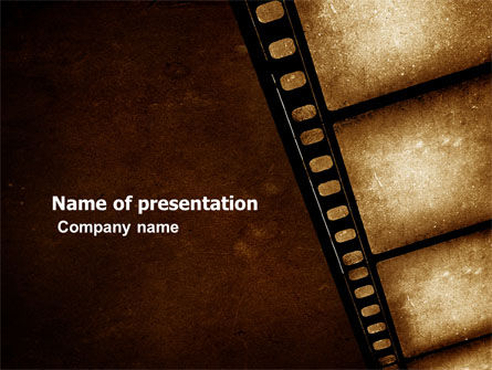 Careers/Industry: Movie Strip PowerPoint Template #03652