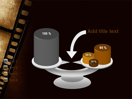 Movie Strip PowerPoint Template Slide 10