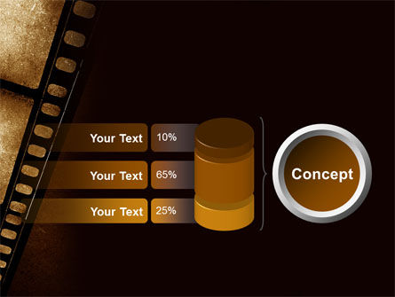 Movie Strip PowerPoint Template Slide 11