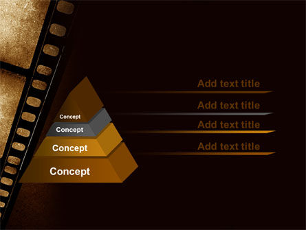 Movie Strip PowerPoint Template Slide 12