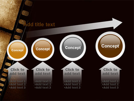 Movie Strip PowerPoint Template Slide 13