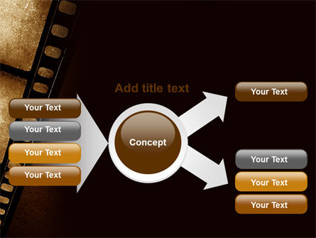 Movie Strip PowerPoint Template Slide 14