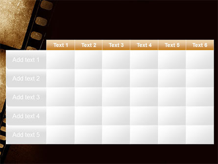 Movie Strip PowerPoint Template Slide 15