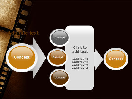 Movie Strip PowerPoint Template Slide 17