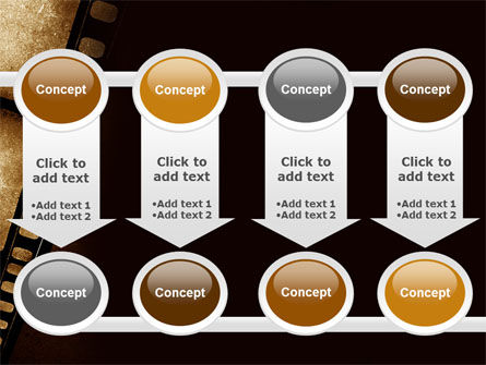 Movie Strip PowerPoint Template Slide 18