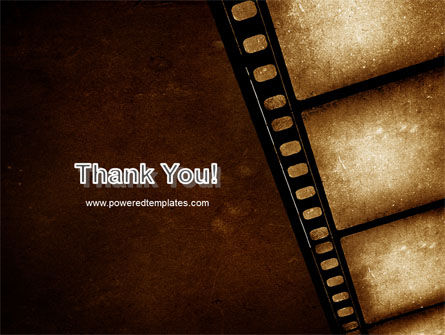 Movie Strip PowerPoint Template Slide 20