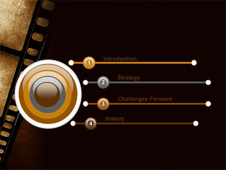 Movie Strip PowerPoint Template Slide 3