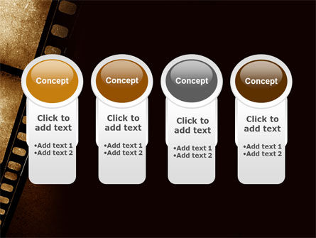 Movie Strip PowerPoint Template Slide 5