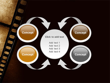 Movie Strip PowerPoint Template Slide 6