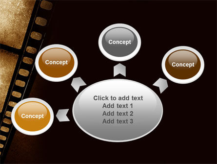 Movie Strip PowerPoint Template Slide 7