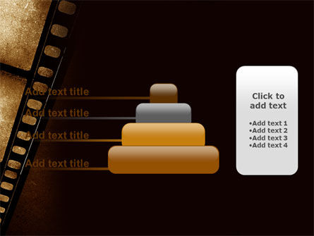 Movie Strip PowerPoint Template Slide 8