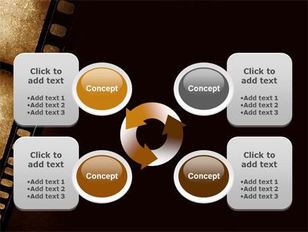 Movie Strip PowerPoint Template Slide 9