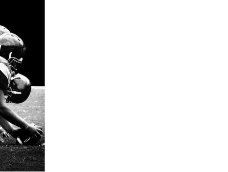 American Football Dallas Cowboys PowerPoint Template, Slide 3, 03653, Sports — PoweredTemplate.com