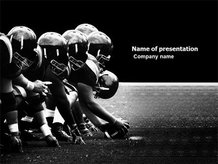 Sports: American Football Dallas Cowboys PowerPoint Template #03653