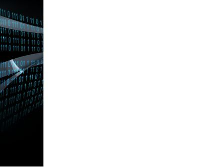 Digital Stream PowerPoint Template, Slide 3, 03656, Technology and Science — PoweredTemplate.com