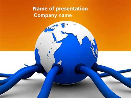 Earth Resources PowerPoint Template, 03658, Global — PoweredTemplate.com