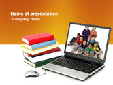 Education & Training: Computer Study PowerPoint Template #03659