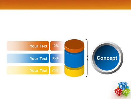 ABC Bricks PowerPoint Template Slide 11