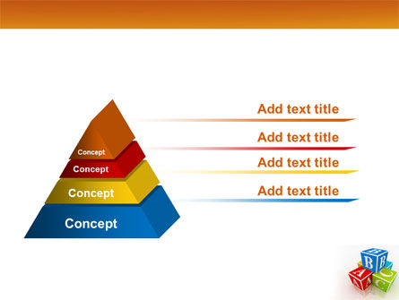 ABC Bricks PowerPoint Template Slide 12