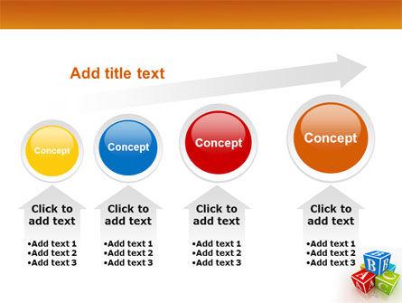 ABC Bricks PowerPoint Template Slide 13