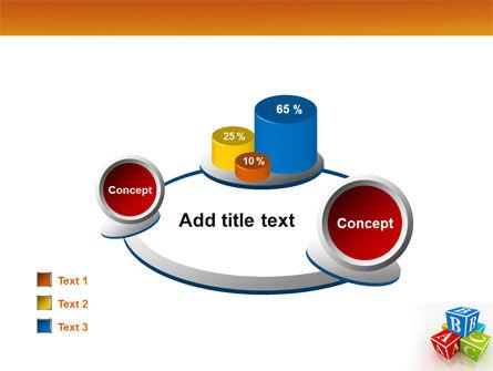 ABC Bricks PowerPoint Template Slide 16