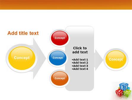 ABC Bricks PowerPoint Template Slide 17