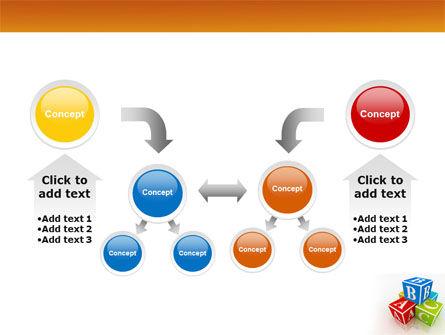 ABC Bricks PowerPoint Template Slide 19