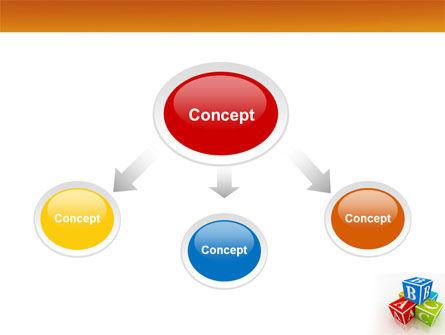 ABC Bricks PowerPoint Template Slide 4