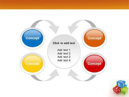 ABC Bricks PowerPoint Template Slide 6