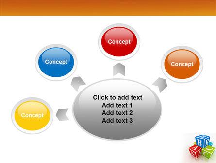 ABC Bricks PowerPoint Template Slide 7