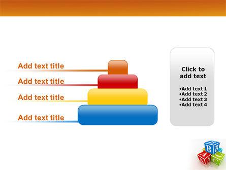 ABC Bricks PowerPoint Template Slide 8
