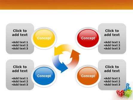 ABC Bricks PowerPoint Template Slide 9