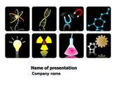 Technology and Science: Modelo do PowerPoint - estudo de ciências naturais #03661