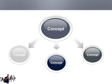 Secondary Schoolboy PowerPoint Template, Slide 4, 03662, People — PoweredTemplate.com