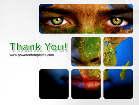 Face of Earth PowerPoint Template Slide 20