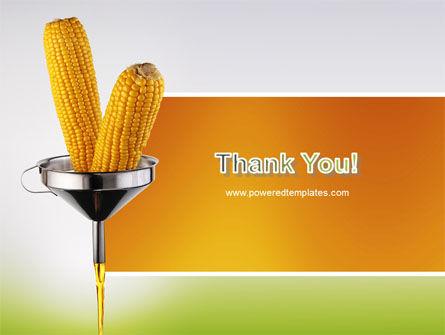 Corn Oil PowerPoint Template Slide 20