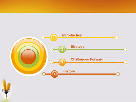 Corn Oil PowerPoint Template, Slide 3, 03664, Careers/Industry — PoweredTemplate.com