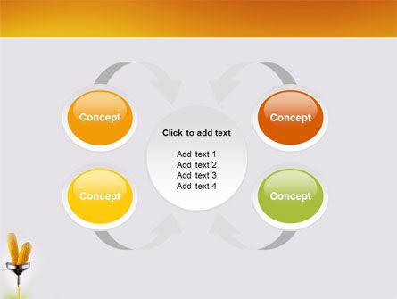 Corn Oil PowerPoint Template Slide 6