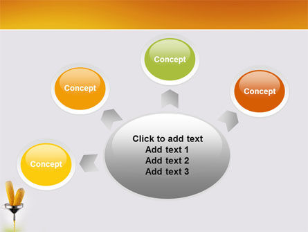 Corn Oil PowerPoint Template Slide 7