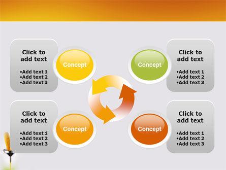 Corn Oil PowerPoint Template Slide 9