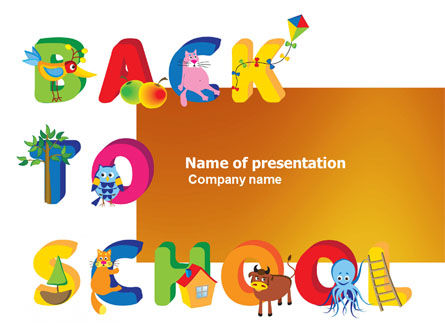 Back to School Season PowerPoint Template