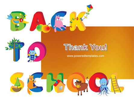 Back to School Season PowerPoint Template Slide 20