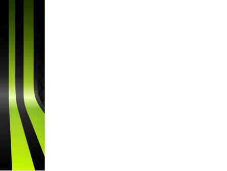 Yellow Green Path PowerPoint Template, Slide 3, 03671, Abstract/Textures — PoweredTemplate.com