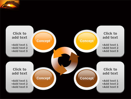 Spikelets PowerPoint Template Slide 9