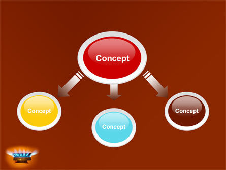 Gas Stove PowerPoint Template Slide 4