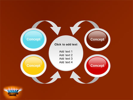 Gas Stove PowerPoint Template Slide 6