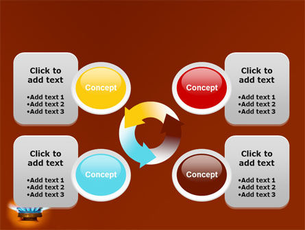 Gas Stove PowerPoint Template Slide 9