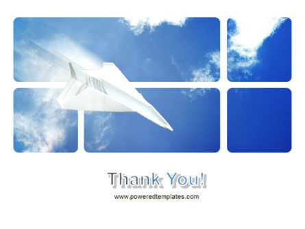 Paper Plane PowerPoint Template Slide 20